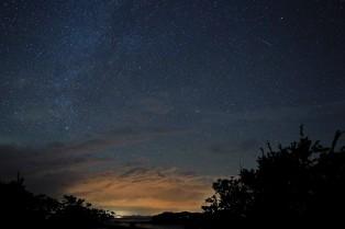 A birthday wish upon a shooting star