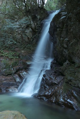 Karanno Falls, side view