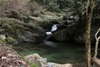 rock pool above Karanno Falls