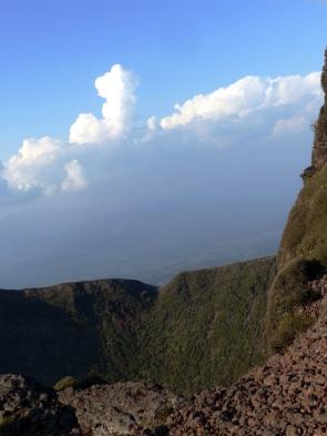 Lookout over the crater of Mt. Karakuni