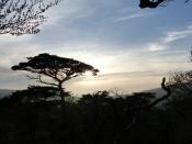 Sunset from Karakunidake