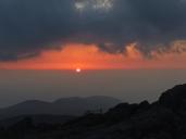 Sunset on Karakunidake