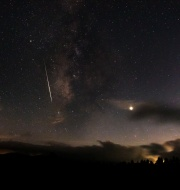 Meteor skirts Milky Way 2